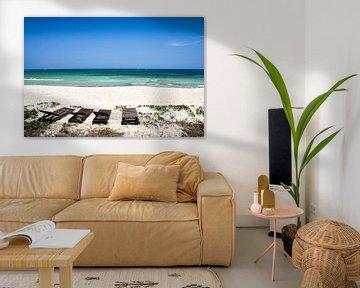 The perfect beach von Leon Weggelaar