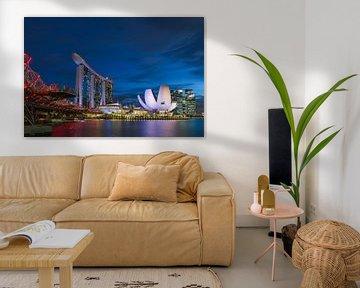 Marina Bay Sands von Bart Hendrix