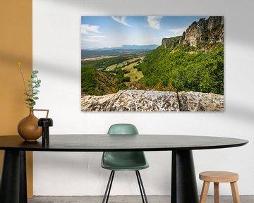 Uitzicht over de bergen, en Europesche Alpen van Fotografiecor .nl