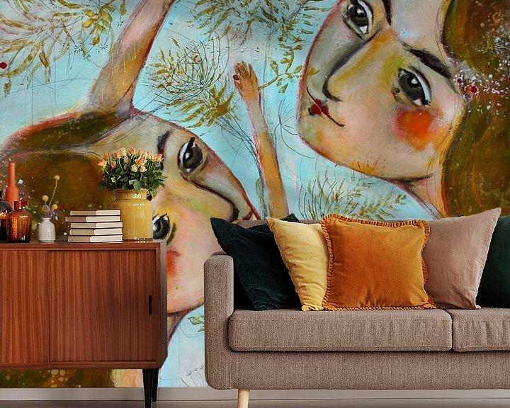 Sfeerimpressie behang: Zusjes van RAR Kramer