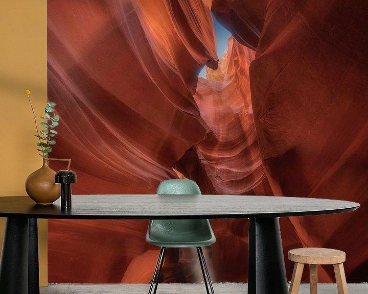 Sfeerimpressie behang: Antelope Canyon van Photo Wall Decoration