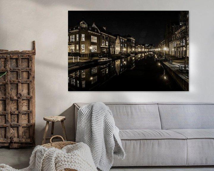 Sfeerimpressie: Leiden op zijn mooist! van Dirk van Egmond