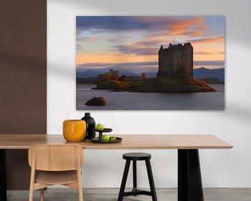Castle Stalker, Schotland van Henk Meijer Photography
