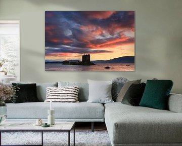 Stalker Castle, Schotland van Henk Meijer Photography