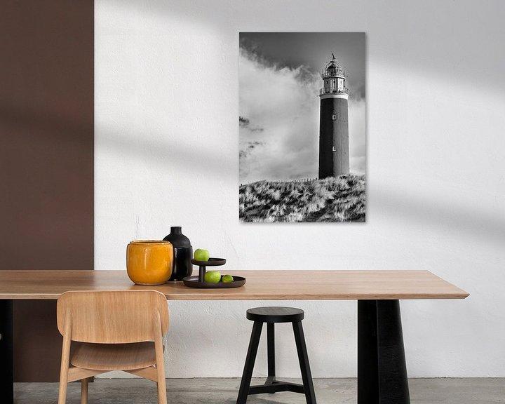 Beispiel: Leuchtturm Texel von Loek van de Loo