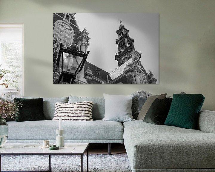 Impression: Westerkerk in Amsterdam sur Loek van de Loo