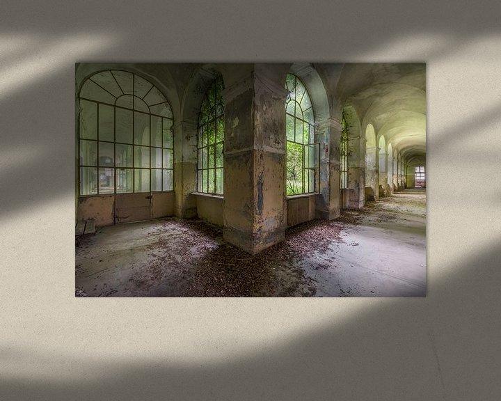 Beispiel: Grüne Halle von Perry Wiertz