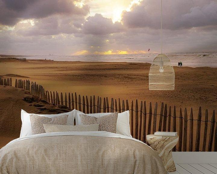 Sfeerimpressie behang: Katwijk op zijn mooist! van Dirk van Egmond