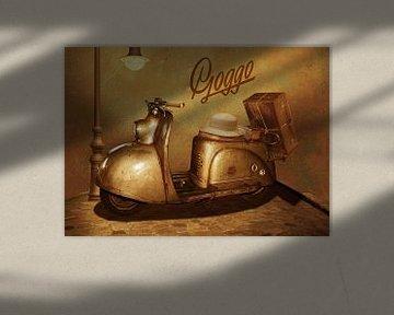 Goggo Motorroller aus den 50er Jahren