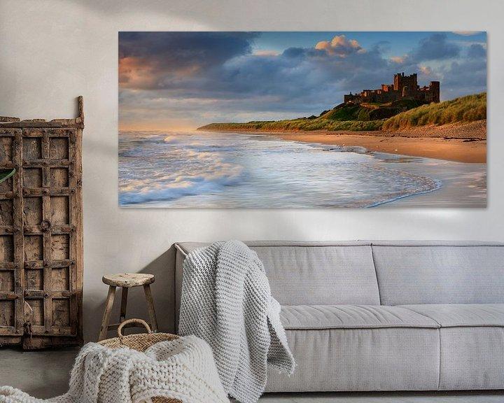 Sfeerimpressie: Kasteel Bamburgh, Northumberland, Engeland van Henk Meijer Photography