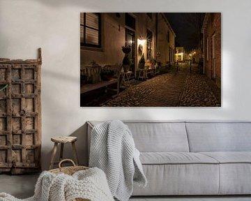 Nacht in Elburg von Jenco van Zalk
