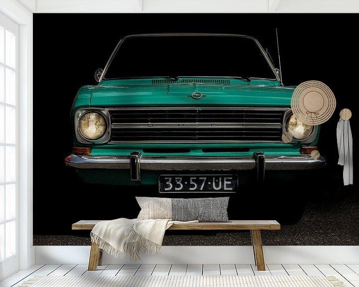 Beispiel fototapete: Opel Cadet 1972 von marco de Jonge