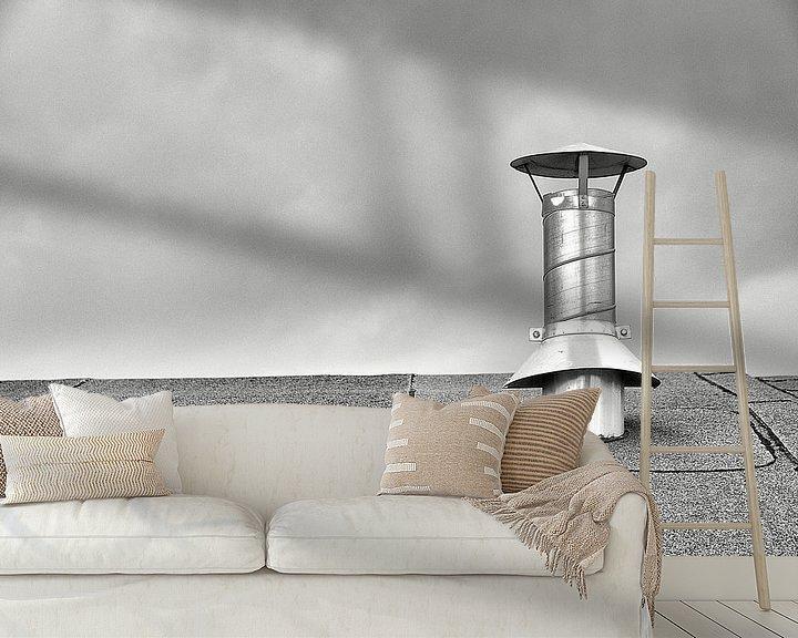 Sfeerimpressie behang: Rust voor roest op dak van Ernst van Voorst