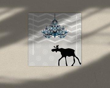 A Moose finds home  IA van Pia Schneider