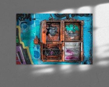 """Streetart &quot, nachschlagen"""" von Christophe Fruyt"""