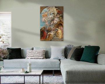 Ölskizze der Himmelfahrt Mariens, Peter Paul Rubens