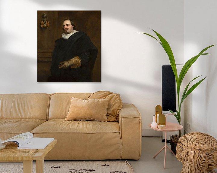 Beispiel: Porträt von Peeter Stevens, Anthony van Dyck