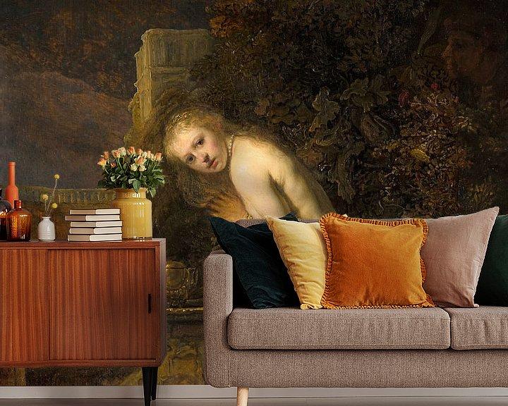 Beispiel fototapete: Suzanna - Rembrandt van Rijn
