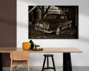 Ein alte Peugeot von Halma Fotografie