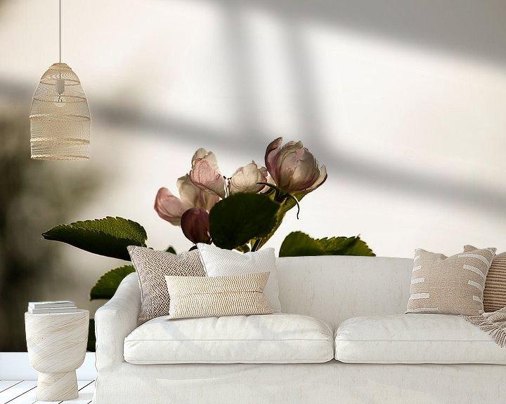 Sfeerimpressie behang: Cherry Blossom van Erich Werner