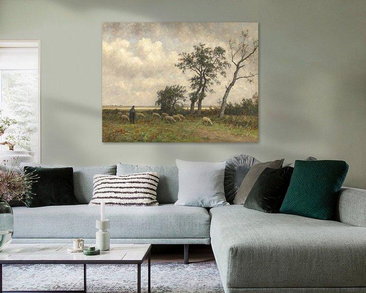 Beispiel: Landschaft in Drenthe, Alphonse Stengelin