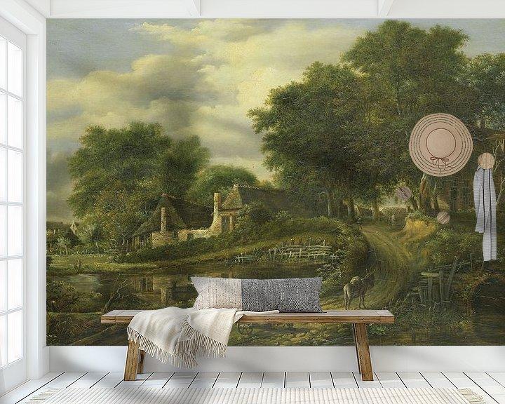 Beispiel fototapete: Landschaft, Julien Joseph Ducorron