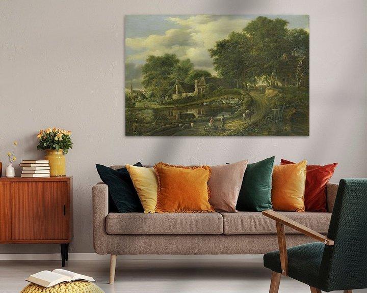 Beispiel: Landschaft, Julien Joseph Ducorron