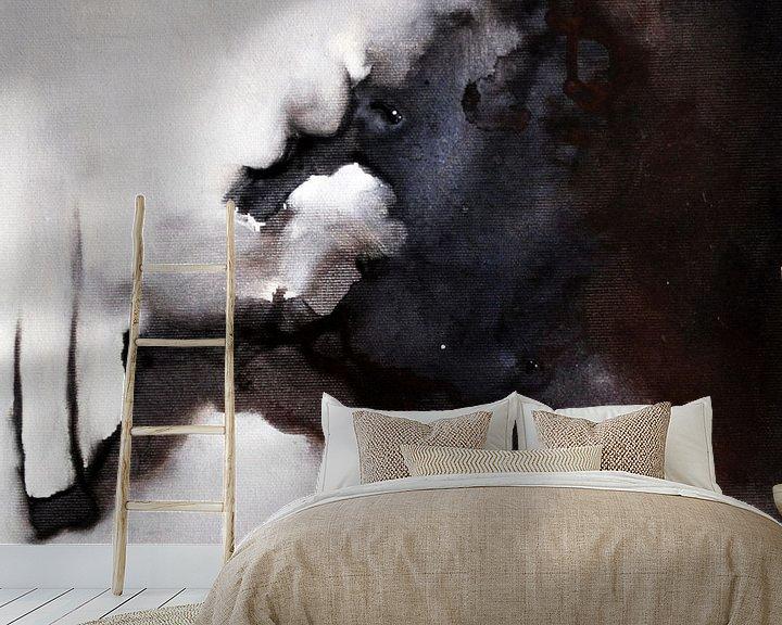 Sfeerimpressie behang: Shadow van Maria Kitano