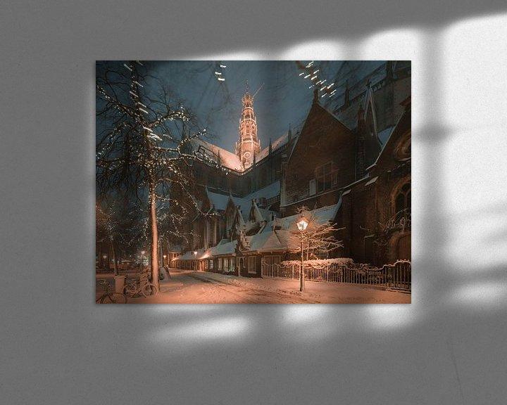 Impression: Haarlem: De Oude Groenmarkt. sur Olaf Kramer