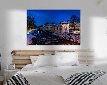Winter am Fluss von Heinz Grates
