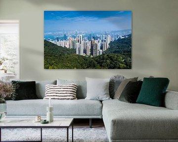Hongkong, Victoria Peak von Inge van den Brande