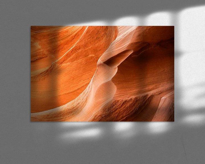 Sfeerimpressie: Antelope Canyon 3 van Louis ten Kate