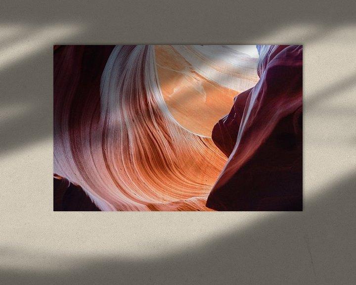 Sfeerimpressie: Antelope Canyon 4 van Louis ten Kate