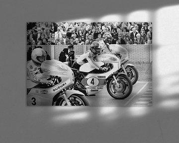 Démarrage 500 cc 1975 TT Essieux sur Harry Hadders