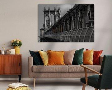 Manhattan Bridge       New York von Kurt Krause