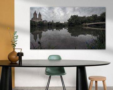 Central Park  New York von Kurt Krause