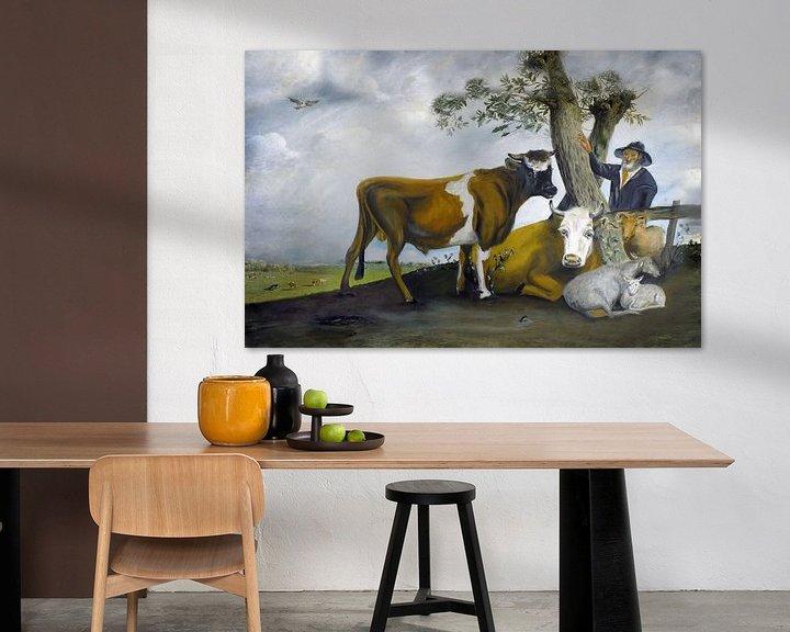 Sfeerimpressie: De stier van Potter van Jan Wiersma