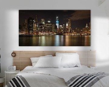 Skyline New York City van Jeroen Meeuwsen
