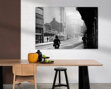 Antwerpen - Winter von Maurice Weststrate