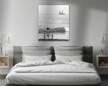 Wegdromen aan zee von Emil Golshani