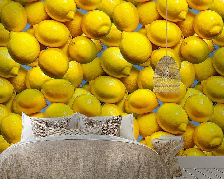 Beispiel fototapete: Zitronen von Leopold Brix