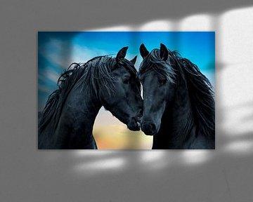 Friesisch Pferd von Gert Hilbink
