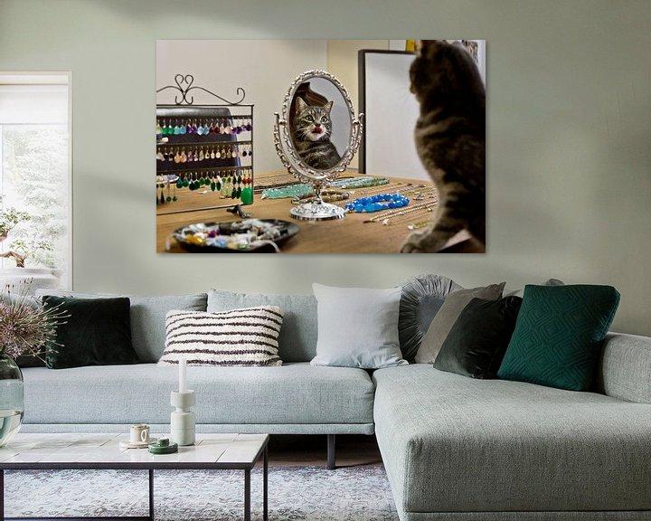 Sfeerimpressie: Huiskat edelsmid, Amsterdam van Robert van Willigenburg
