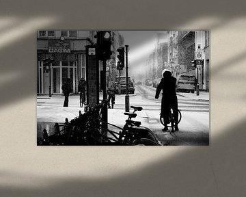 Antwerpen - Sneeuwstorm von Maurice Weststrate
