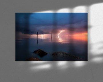 Sturm über den See von Edwin Mooijaart