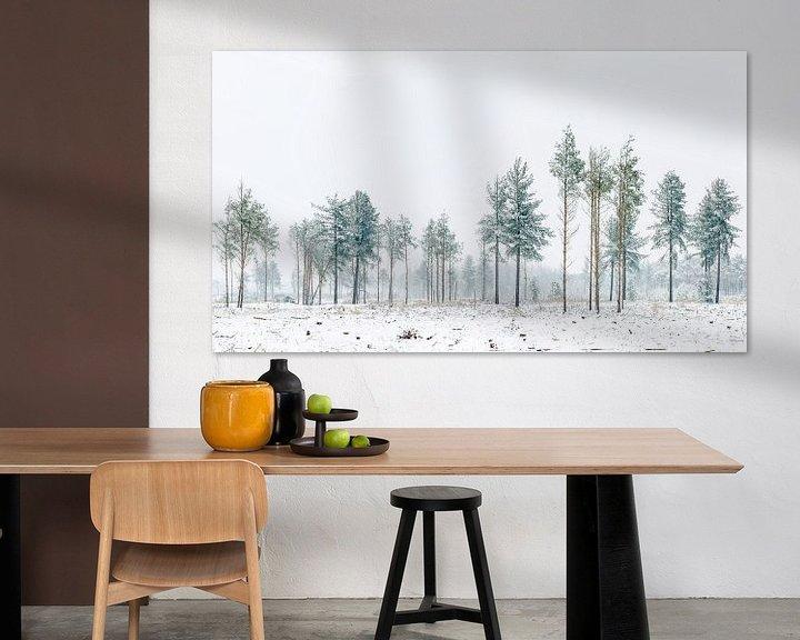 Sfeerimpressie: Bomen op de Strabrechtse Heide van Nando Harmsen
