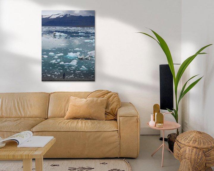 Sfeerimpressie: Jokulsarlon IJsland van Wilco Berga