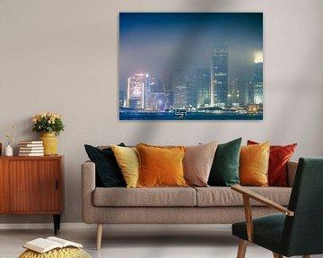 Mistig Hong Kong von Marcel Samson