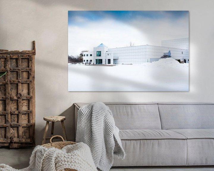 Beispiel: Paisley park in the snow! von Peter Lodder