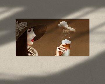 Een hemelse latte macchiato van Monika Jüngling